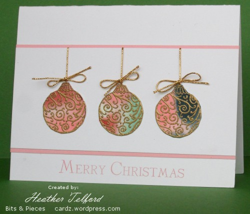 Watercolored gift set heather telford - Postal navidad original ...