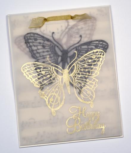 Vellum butterfly