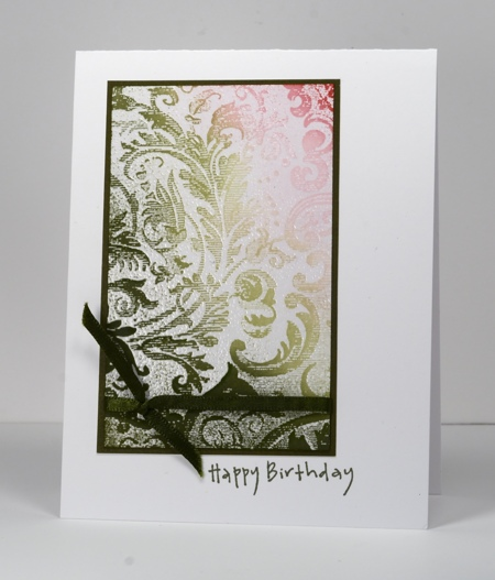 Complementary Damask
