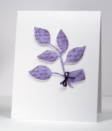 Leaves die lilac