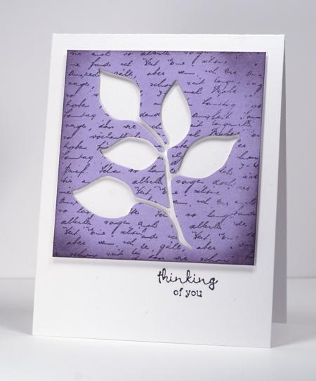 Leaves die negative lilac