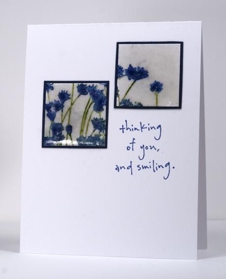 two flower tiles