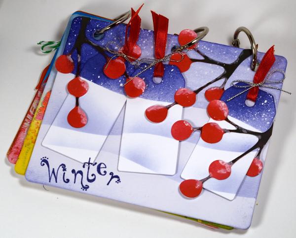 Design memory craft Faber Castell mini journal