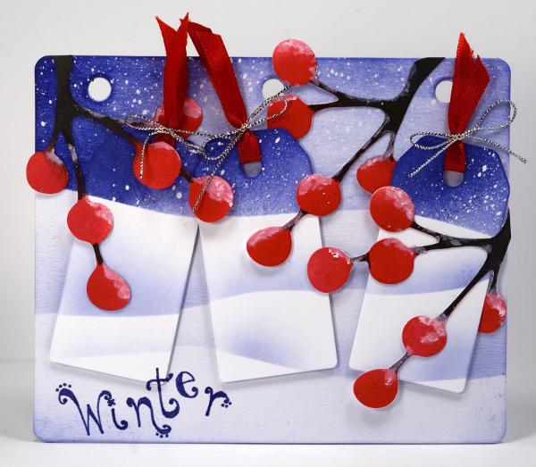 Winter journal board