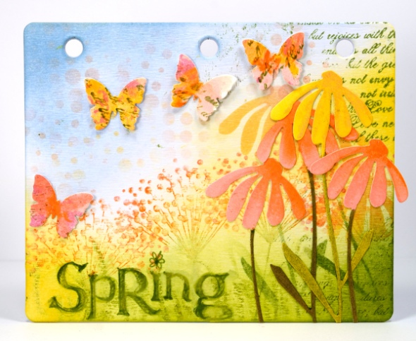 Spring journal board