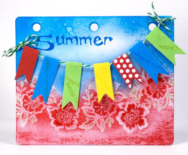 Summer journal board