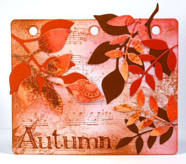 Autumn journal board