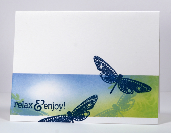 Dragonfly relax