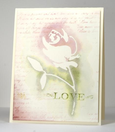 Love & rose die Heather Telford
