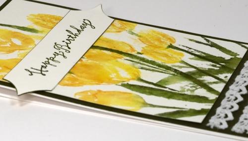 Ten Tulips Detail Heather Telford