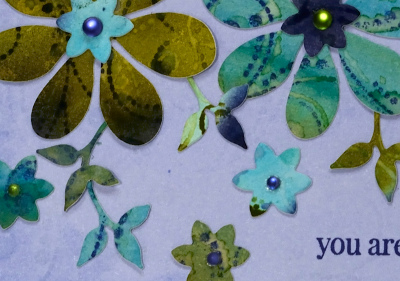 Dotted Fusion Die Cut detail Heather Telford