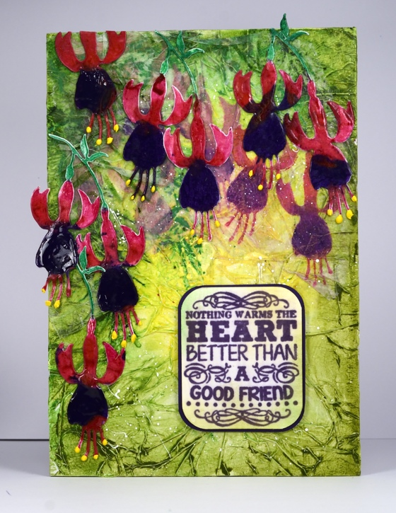 Fuchsias with sentiment Heather Telford