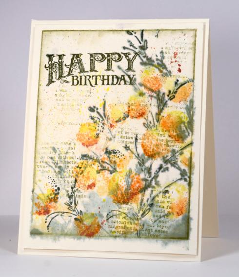 Vintage birthday Heather Telford