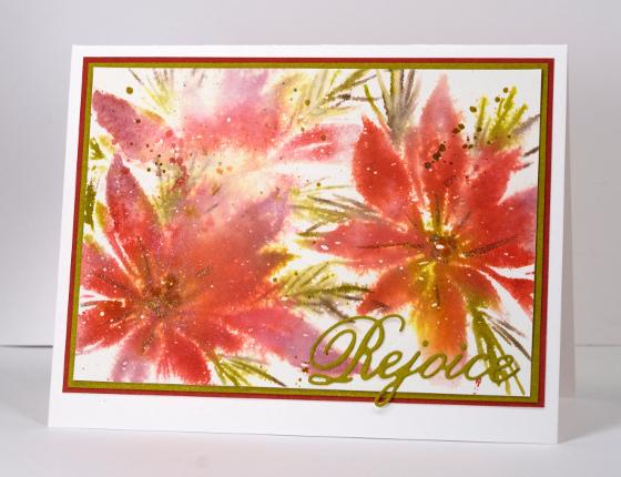 Rejoice Poinsettias Heather Telford
