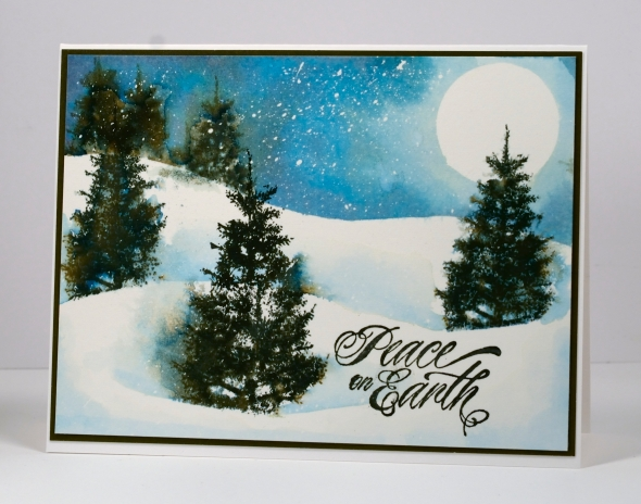 Falling Snow Tutorial Heather Telford