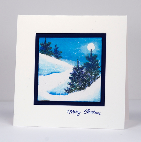 Inchie snowscape Heather Telford