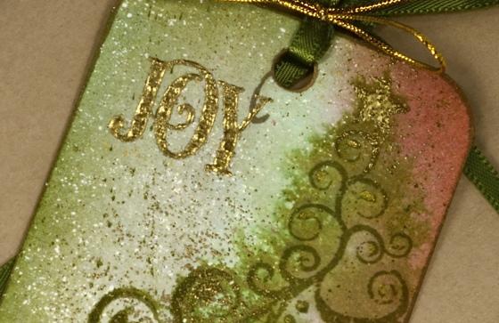 Joy tag details Heather Telford