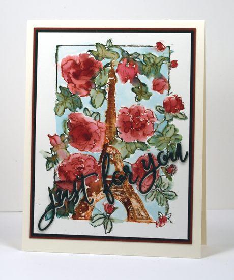 Roses in Paris Heather Telford