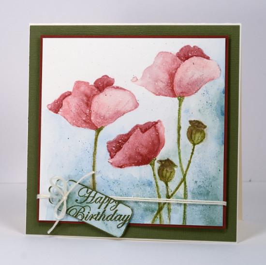 Pink poppies Heather Telford