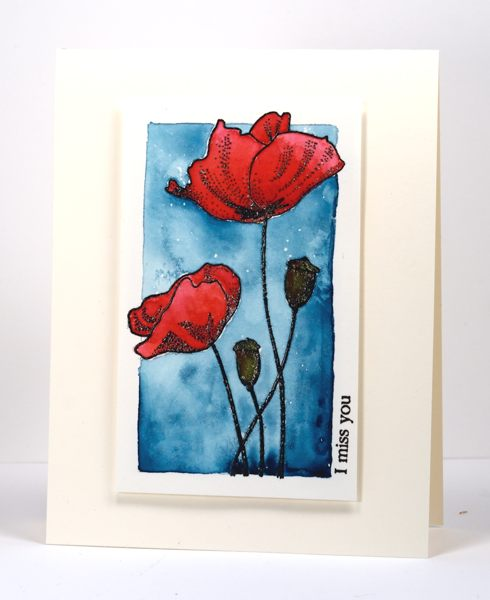 Red Poppies Heather Telford