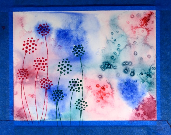 pink and blue floral step 2 Heather Telford scaled