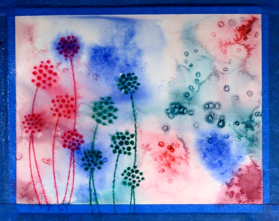 pink and blue floral step 3 Heather Telford