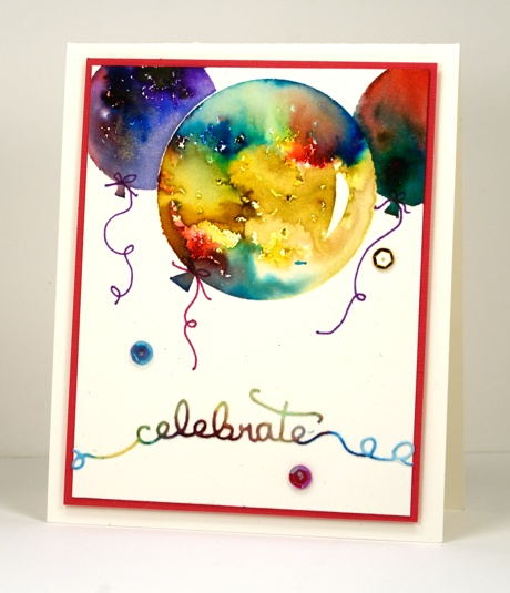bistre burst balloons Heather Telford