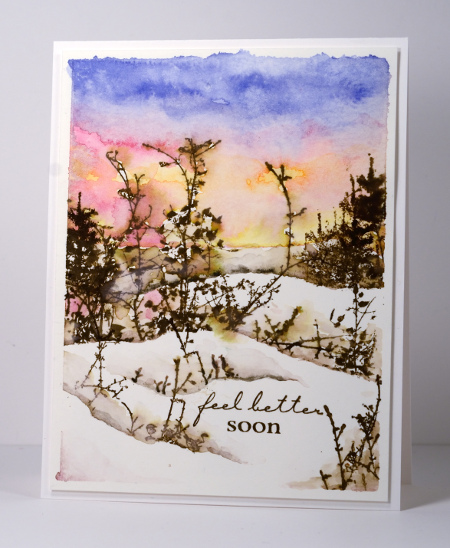 winter sunset Heather Telford