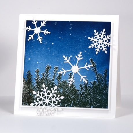 Snowflake sky Heather Telford