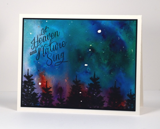 Northern night sky Heather Telford