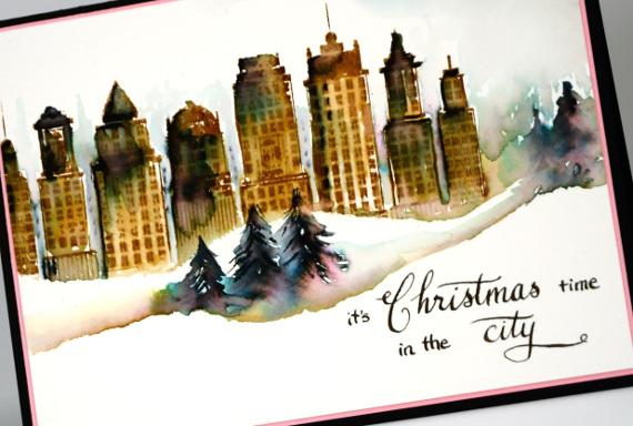 City Christmas detail Heather Telford