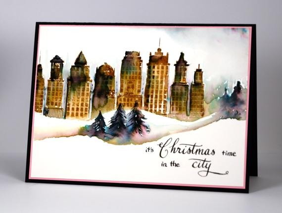 City Christmas Heather Telford