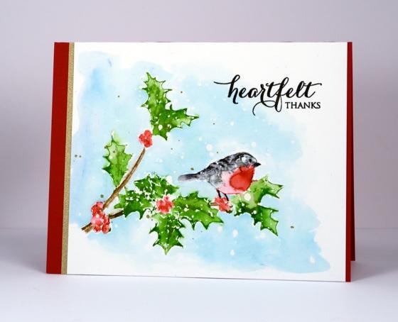 Holly heartfelt thanks Heather Telford