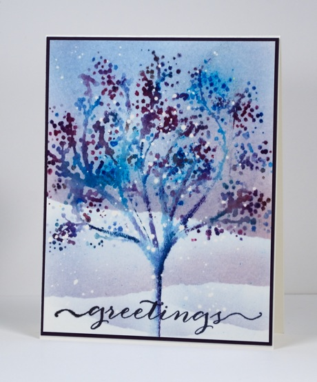 Blue tree Heather Telford
