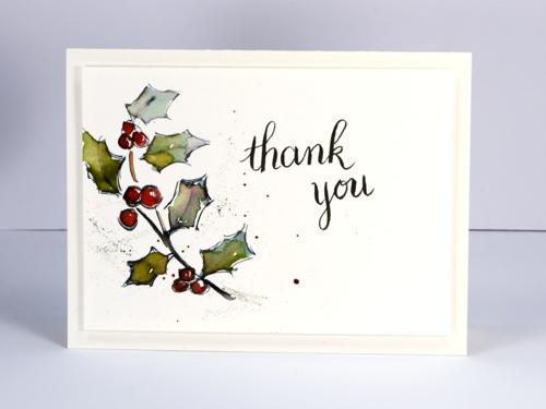 Hand drawn thank you Heather Telford