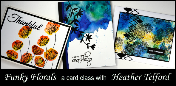 Funky florals Heather Telford