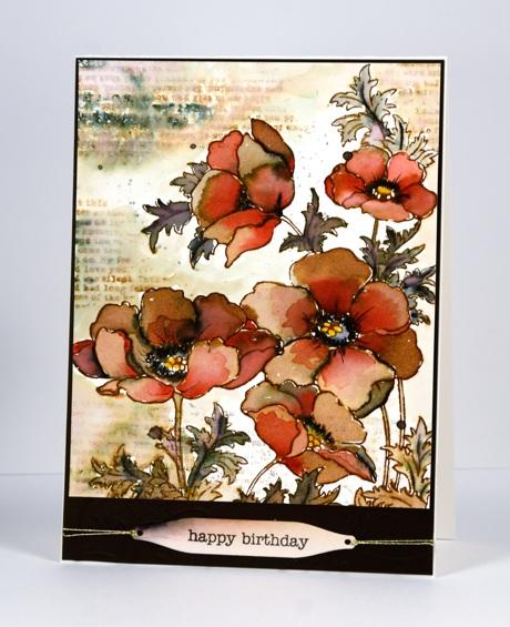 Poppy gems browns Heather Telford