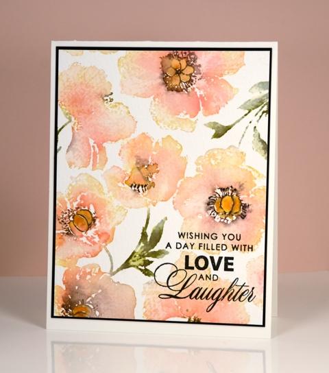 peach poppy panel Heather Telford