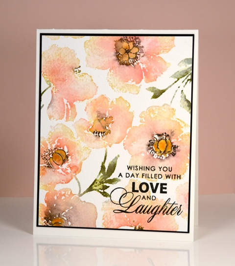 peach poppy panel Heather Telford