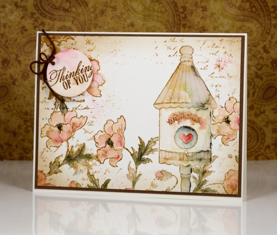 vintage birdhouse 1 Heather Telford