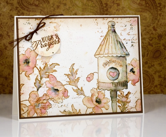 vintage birdhouse 2 Heather Telford