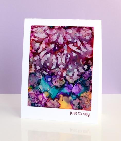 purple stencilled heather Telford