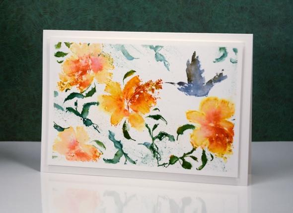 hummingbird treat Heather Telford