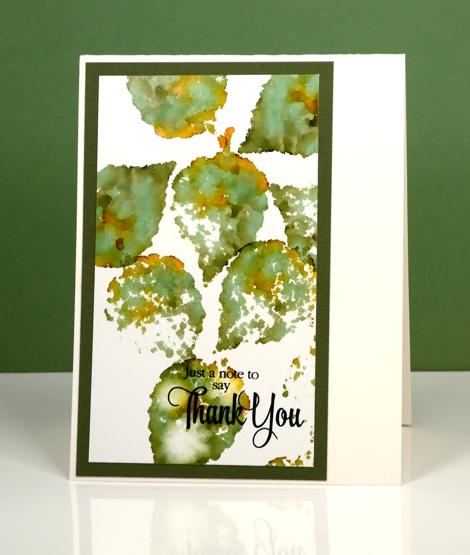 green leaves Heather Telford