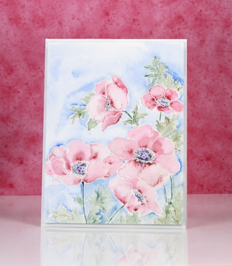 pastel poppy gems Heather Telford