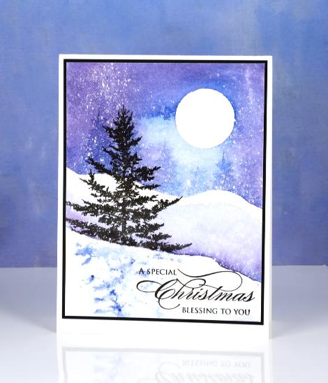 DSC_2196 Christmas watercolour Heather Telford