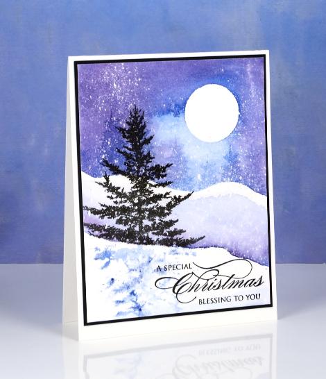 DSC_2330 Christmas watercolour Heather Telford