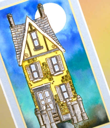 Yellow house close up Heather Telford