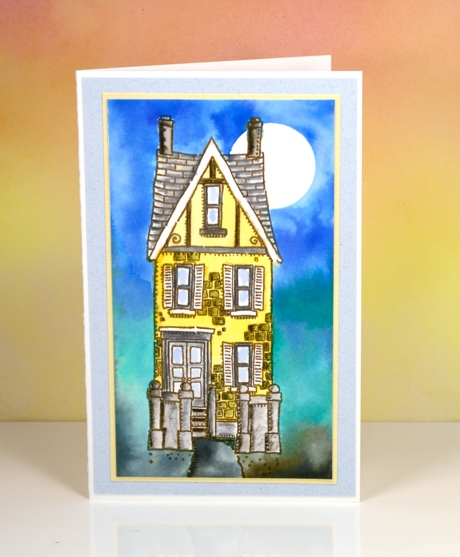 Yellow house Heather Telford
