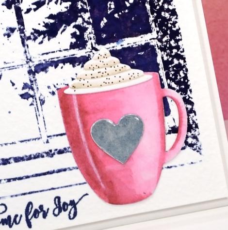 Hot chocolate closeup Heather Telford